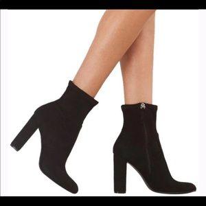 Steve Madden heeled sock boots